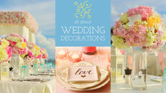 Colorful Wedding Decorations Blog Post Graphic Decor
