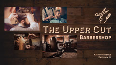 Brown Upper Cut Barbers Facebook Page Cover Barber