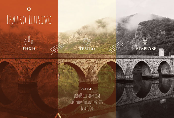 Teatro Ilusivo Brochure Ideas