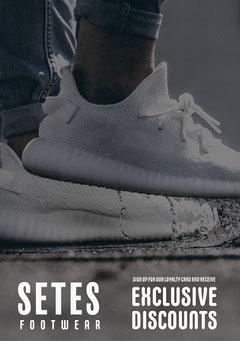 Setes Footwear Flyer Discount