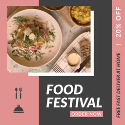 Food Festival Instagram Square