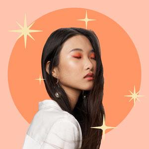 Sparkly Peach Profile Picture Profile Picture