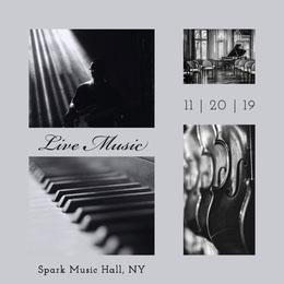 Live Music Collage di foto