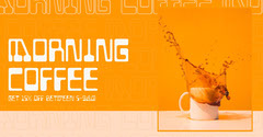 morning coffee facebook  Discount