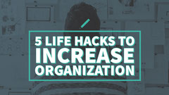 Lifestyle Tips for Organization Youtube Thumbnail Tutorial