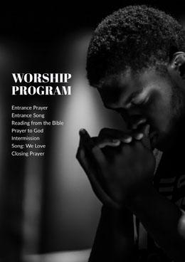 Worship Program