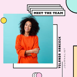 Colorful Pastel Style, Meet the Team, Instagram Square