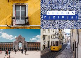 Lisbon Postcard Postal