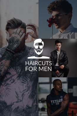 Haircuts for Men Photo Collage