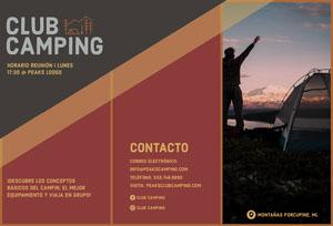 CLUB CAMPING Folleto