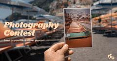 Orange Film Photo Facebook Advert  Photography