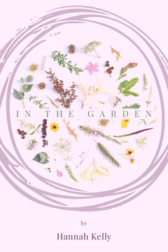 Pink and White Garden Floral Book Cover Garden