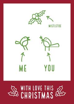 Christmas card Seasonal
