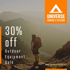 Orange Universe Camping & Outdoor Instagram Square Hike