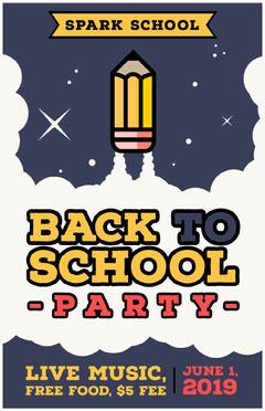 BACK TO<BR>SCHOOL Food Flyer
