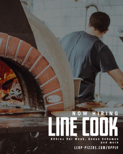 Leap Pizza Oven IG Portrait Pizza
