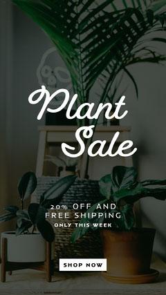 plant sale instagram story Plants