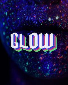 glow instagram portrait  Neon