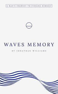 Blue Wave Story Kindle Book Cover Wave