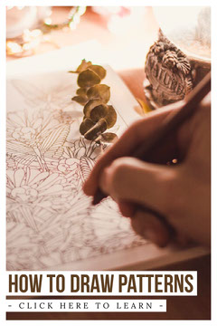 How to draw patterns Pinterest