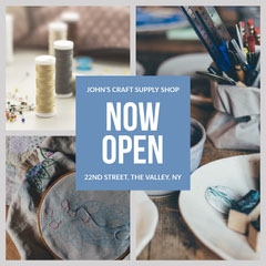 Johns craft Instagram square  Shopping