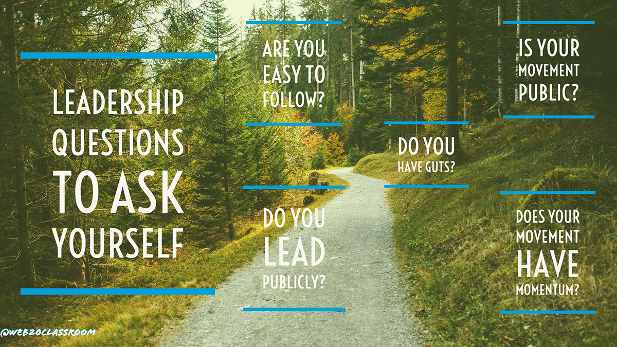 Leadership Questions To Ask Yourself