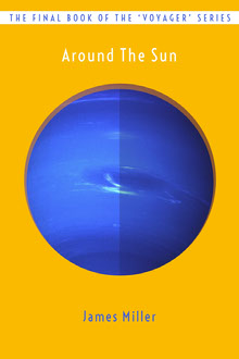 Sci-Fi Planet Book Cover Couverture de livre