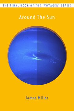 Sci-Fi Planet Book Cover Sun