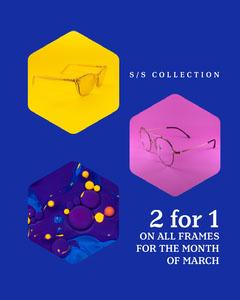 glasses Instagram portrait New Collection
