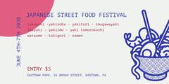 japanese street food festival eventbrite Japan