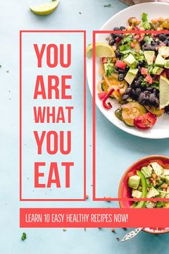 YOU ARE WHAT YOU EAT Pinterest