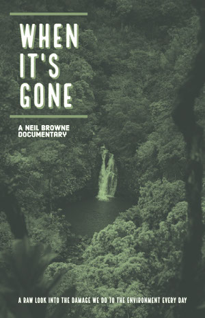 WHEN<BR>IT'S<BR>GONE Cartel de película