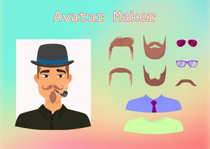 Male Avatar Accessories Character Maker  Avatar