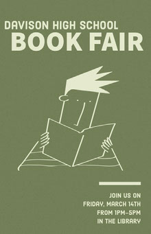 BOOK FAIR School Posters