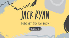 Yellow and Grey Podcast Review Blog Banner Paint