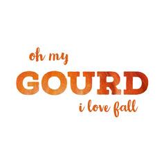 Orange and White Minimalistic Fall Instagram Graphic  Jokes