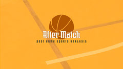 Orange Basketball After Match Sports Analysis Youtube Channel Art Sports