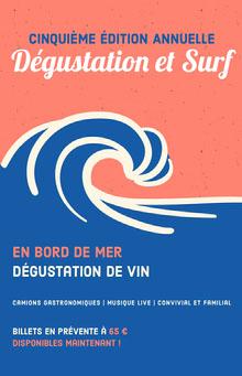 wine event poster  Affiche