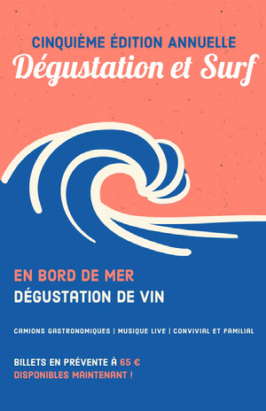 wine event poster  Affiche événementielle