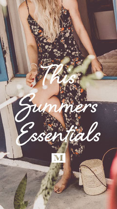 summer fashion dress clothing instagram story  Dress