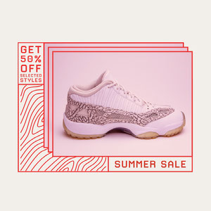 red white summer shoe sale instagram  101 Templates - Professional Communicator