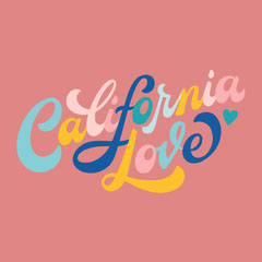 Pink and Colorful Catchphrase Sticker Instagram Post California