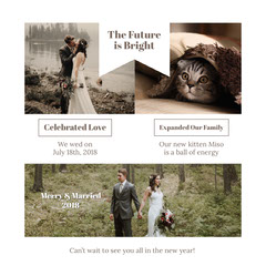 White With Photos Future Is Bright Instagram Graphic Cat