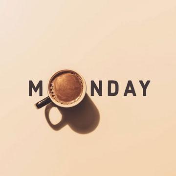 Monday Coffee Instagram Square COVID-19