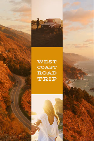 West Coast Road Trip 무드보드