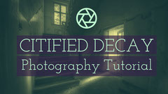 Violet and Green Photography Tutorial Banner Tutorial