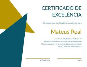 Mateus Real Diploma