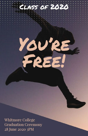 You're Free! Graduation Card