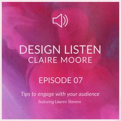 Pink Design Podcast Ad Instagram Post Designer
