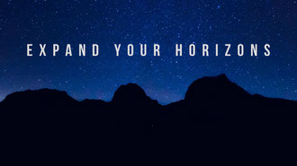 EXPAND YOUR HORIZONS Background